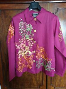 Colourful Indigo Moon Jacket Medium