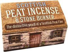Scottish Peat Incense & Stone Burner