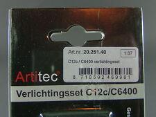 Artitec 20.251.40 Innenbeleuchtung Set für C12c und C6400 / AC DC / Neu & OVP