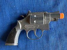 Vintage 1960s Hubley Trooper Cap Pistol Gun Metal Works Well Early version