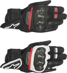 Alpinestars Rage Drystar Gloves - Motorcycle Leather Waterproof Touch Screen