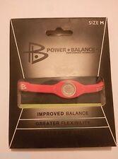 1  new original power balance wristband sport Collection diet pink Medium