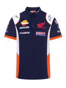 Repsol Honda Motogp Team Polo Shirt  2021 Season NEW Official Apparel