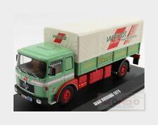 Man 19.320 Truck Telonato Busssing Wandt Sped. Transports 1975 IXO 1:43 TRU028 M