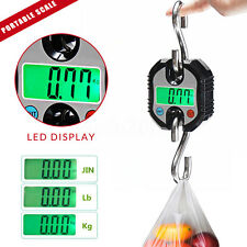 150Kg/330Lb Portable Hanging Electronic Digital Luggage Weight Hook Crane Scales