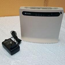 Huawei B593 B593s-22 LTE CPE 4G 4xLAN USB Wifi Mobile Router White Unlocked