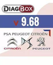 Nouveau Logiciel diagbox 9.68 pour Citroen / Peugeot / DS / Opel
