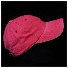 Plain Baseball Cap Distressed Cotton Caps Solid Hat Fashion Hats Visor Trucker