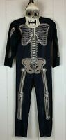 Halloween Costume Skeleton Jumpsuit Mask Youth Large L Boys Rubies 2PCS Outfit