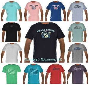 "BNWT BIG Mens PIERRE CARDIN T-Shirt/Top 3XL-6XL 49-62"" Chest DESIGNER Paris NEW"