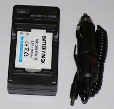Battery+ Charger For Panasonic Lumix DMC-TZ40, DMC-TZ55, DMC-TZ60 Digital Camera