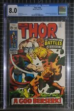 THOR #166 CGC 8.0 VF 2nd Full Warlock (HIM) Guardians of the Galaxy White/OW