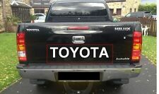 Sticker Decal for Toyota Hilux Tailgate tailgate rear door back pick up D4D mk3