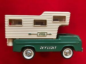 Vintage 1969-1972 Pressed Steel Nylint 5301 Trail Blazer Camper/Truck-For Parts