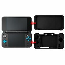Soft Silicon Protect Case Skin Cover for Nintendo New 2DS XL Black