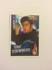 DOCTOR WHO- ALIEN ARMIES- TRADING CARD GAME- 002-SONIC SCREWDRIVER- MINT