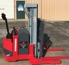 """2002 Raymond DSX40 Walk Behind Forklift Straddle Lift - Very nice Triple 150"""""""