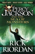 Percy Jackson and The Sea of Monsters Riordan Rick 9780141346847