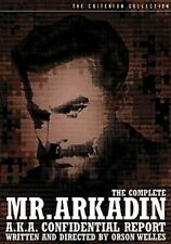 Complete Mr. Arkadin 0037429207727 With Orson Welles DVD Region 1