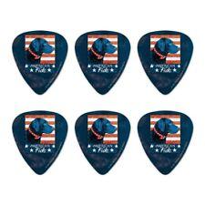 American Fido American Usa Flag Lab Dog Novelty Guitar Picks Medium - Set of 6