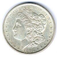 USA Morgen Dollar 1898 26,68g 900er Silber, KM#110, vz
