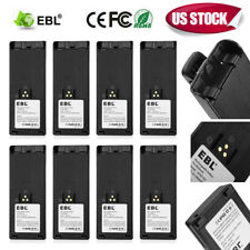 8x NTN7143 NiMH Radio Battery for MOTOROLA HT1000 MTS2000 MT2000 MTX9000 NTN7144