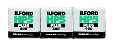 Ilford HP5 Plus 400 ASA 120mm Pack of Three