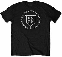 BRING ME THE HORIZON We Hear No Voice When We Pray At Night T-SHIRT OFFICIAL