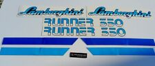 Lamborghini Runner 350 Autocollants stickers decal graphics