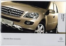 Mercedes-Benz M-Class Accessories 2005-06 UK Market Sales Brochure