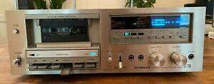 Vintage Pioneer CT-F750 Auto-Reverse Cassette Deck Gorgeous Working 100% Japan