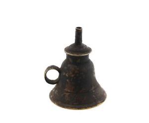 Antica Lampada A Olio IN Forma Da Campana Tibetano 5720
