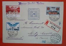 "Switzerland 1938 Rec. Cover with a Multiple fr.-"" Pro Aero Extraordinary Flight"""