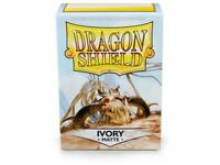 Ivory Matte 100 ct Dragon Shield Sleeves Standard Size FREE SHIPPING! 10% OFF 2+