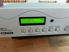 ACOUSTIC SOLUTIONS DAB/FM Radio Stereo Tuner Hifi Separate SP111 Grey