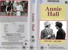ANNIE HALL - Woody Allen -VHS - PAL - NEW - Never played! - Original Oz release