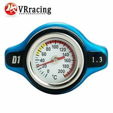 D1 Spec Thermost Radiator Cap COVER + Water Temp gauge 1.3BAR Cover For Honda
