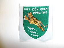 0531 RVN Vietnam CIDG Camp Biet Kich Quan Dong Tre woven MACV  IR6A