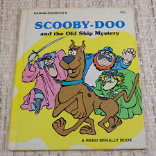 1977 Hanna-Barbera's Scooby-Doo and the Old Ship Mystery Book