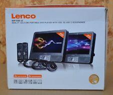 Lenco DVP-938 X2 tragbarer DVD-Player (SD-Kartenleser, USB) ~Auto~KFZ~B-Ware