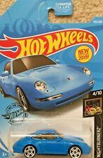 2019 Hot Wheels Toy Car - 155/250 - '96 Porsche Carrera - Nightburnerz 4/10