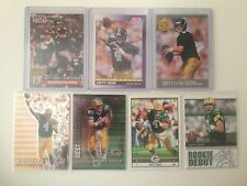 Brett Favre 7-card lot Falcons Packers Jets Vikings No Duplicates!