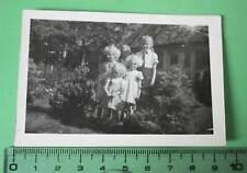 tolles altes Foto  Geschwister - ein Mädchen Jungmädel - BDM