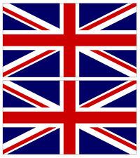 """2x United Kingdom Flag 4"""" Sticker Vinyl Union Jack British Stickers Decals UK"""