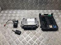 Peugeot 307 ECU SET KIT 9653958980 9663510180 1.6 hdi 16V Diesel 2002 TO 2008