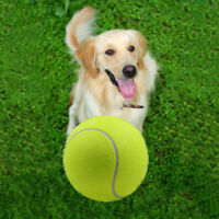 """9.5"""" Big Giant Pet Dogs Tennis Ball Play Toy Tennis Ball Dog Thrower Chew Toy"""