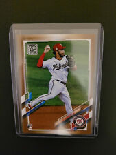 2021 Topps #298 Luis Garcia Gold #/2021 Rookie RC Logo / Nationals , HOT