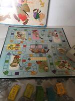 Vintage 1964 Ideal Hanna Barbera Magilla Gorilla Board Game Complete in Box