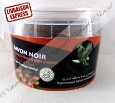 Savon Noir Beldi Huile d'Argan BIO 100% Naturel 250g Black Soap, Jabon Negro