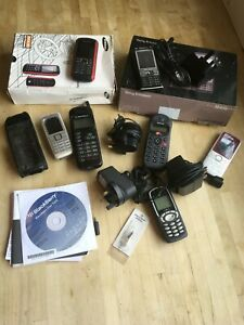 Job Lot of Old Mobile Phones, chargers, boxes, etc